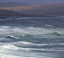 Stormy Waters - Northwest Coast of Scotland by toonartist