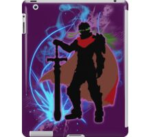 Super Smash Bros. Purple Ike Silhouette iPad Case/Skin