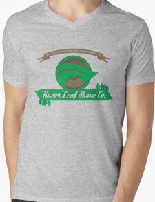 Pokemon - Razor Leaf Shave Company (Flat) Mens V-Neck T-Shirt