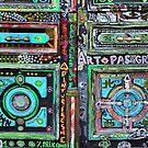 Parisian Mosaic - Piece 18 - Artisan Door by Igor Shrayer