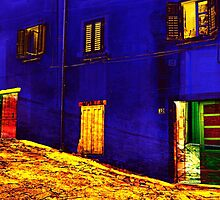 The Essence of Croatia - The Windows And Doors of Labin by Igor Shrayer
