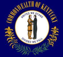 Kentucky State Flag USA Louisville Bedspread T-Shirt Sticker Sticker