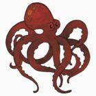 Octopus by JadeGordon