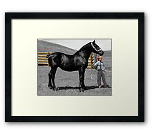 The Proud Owner Framed Print