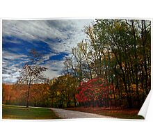 This Way to Autumn Poster