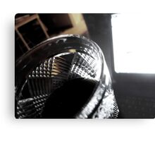 Under the Influence of Work Metal Print
