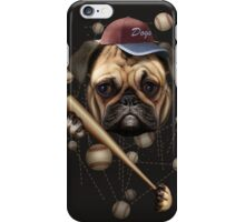DOG BASEBALL iPhone Case/Skin