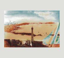 Parisian Mosaic - Piece 20 - The Eiffel Tower T-Shirt