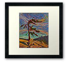 Wind Swept Framed Print