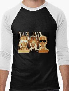 Tonight I'm Burning All The Dark Times Men's Baseball ¾ T-Shirt