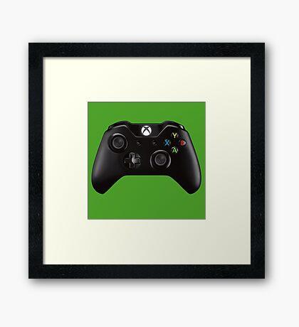 Manette Xbox One Framed Print