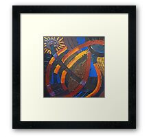 Earth Light Tapestry XIII Framed Print