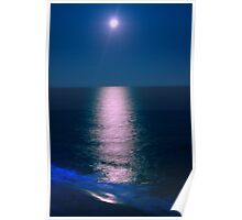 Dancing Moonlight - Myrtle Beach, SC Poster