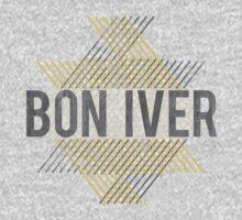 Bon Iver One Piece - Short Sleeve