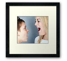 SIBLINGS! Framed Print