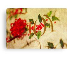 Ribbon Joy Canvas Print