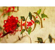 Ribbon Joy Photographic Print