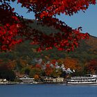 Steamboat Tours Lake George in Autumn by Paul Harrison