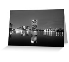 Toledo, Ohio- By Night Greeting Card