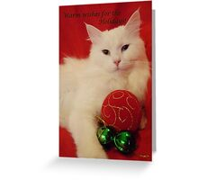 Furry greetings 2 Greeting Card