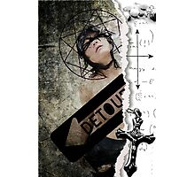 Detour...lost faith...confessions of a catholic girl Photographic Print