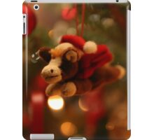 Christmas Pony with Santa Hat and Wings iPad Case/Skin
