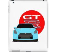 GTR blue iPad Case/Skin
