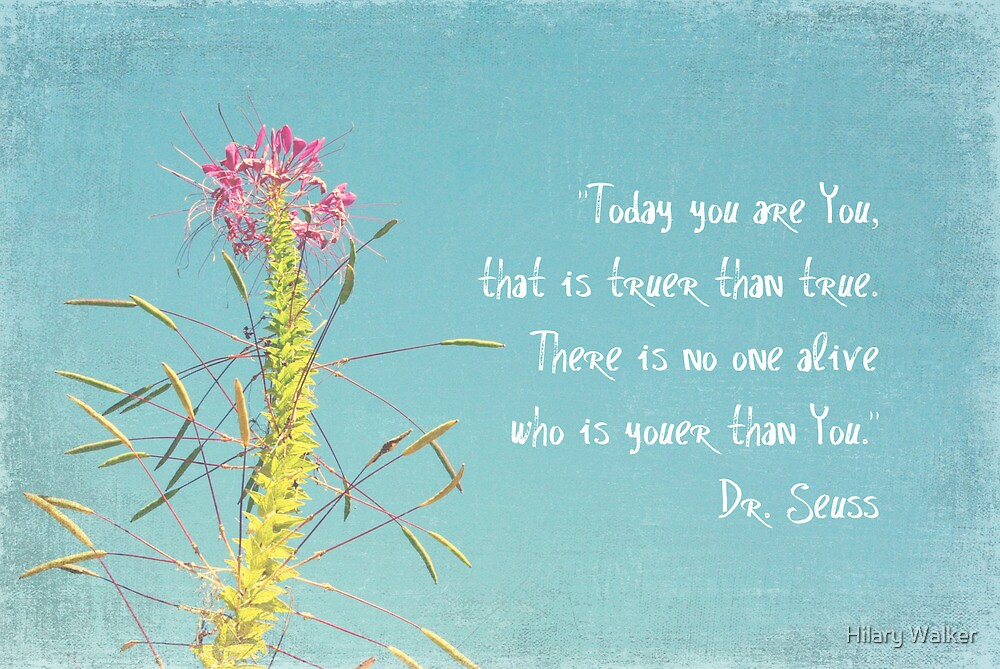 Today You are You by Hilary Walker