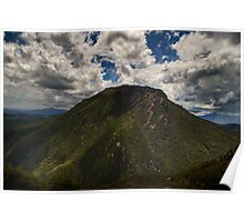 Mt Huxley Poster