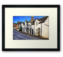 Cottages at Kenmore Framed Print