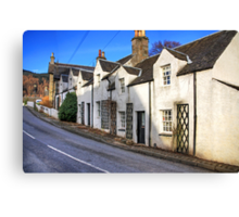 Cottages at Kenmore Canvas Print