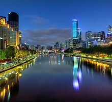 Southbank • Melbourne • Australia  by William Bullimore