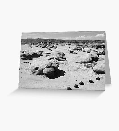 b&w stones  Greeting Card