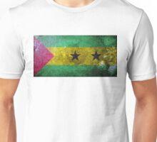 Sao Tome and Principe Grunge Unisex T-Shirt