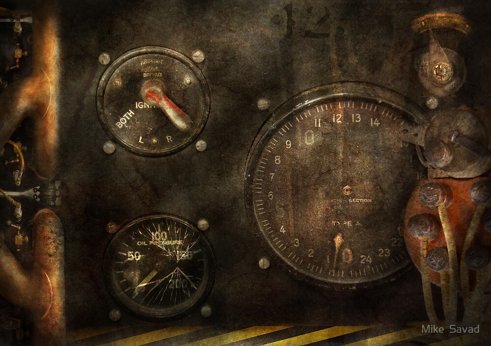 Steampunk - Check your pressure by Mike  Savad