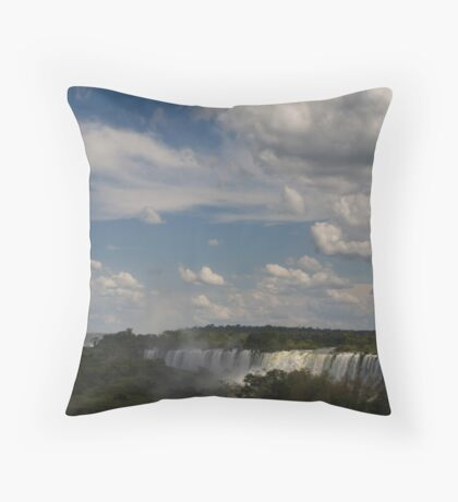 in the sky Throw Pillow