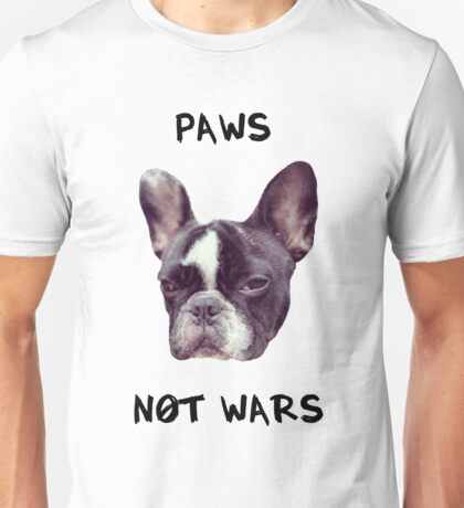 Paws Not Wars Unisex T-Shirt