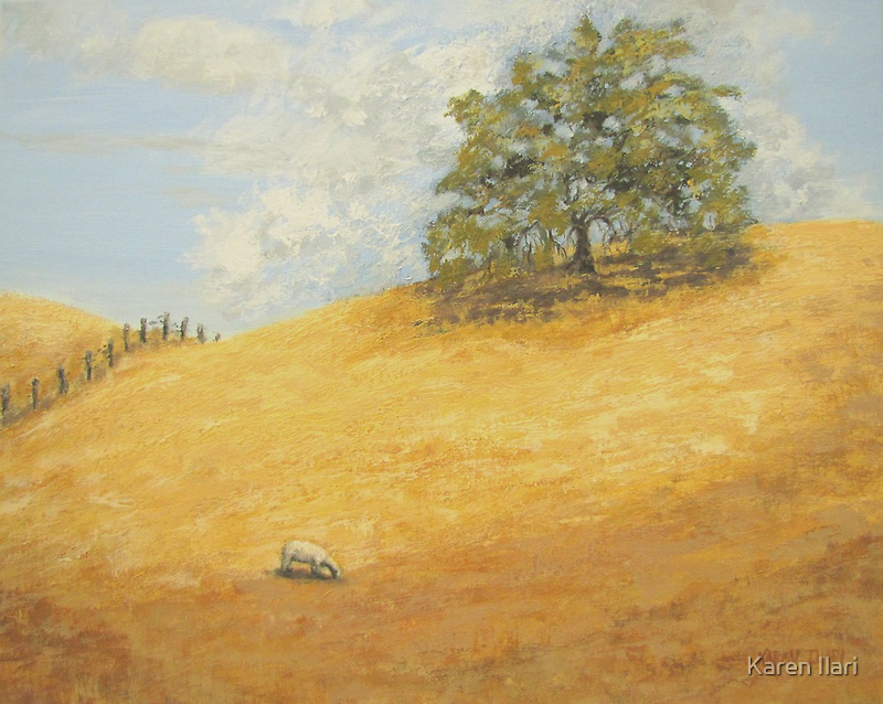Summer Gold by Karen Ilari