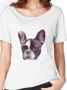 Stitch The French Bulldog Women's Relaxed Fit T-Shirt
