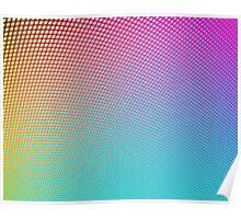 Rainbow Dot Gradient Poster