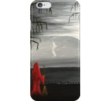 Pendle's witch (red) iPhone Case/Skin