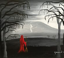 Pendle's witch (red) by Garry-Brennand