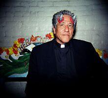Sacerdote del Diablo, Los Angeles, CA October 2010 by joshsteich