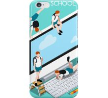 School Devices Set Desktop Personal Computer iPhone Case/Skin