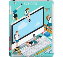 School Devices Set Desktop Personal Computer iPad Case/Skin