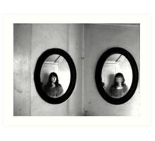 It all makes sense to me- Diptych Art Print