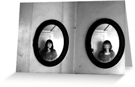 It all makes sense to me- Diptych by MJD Photography  Portraits and Abandoned Ruins