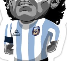 Maradona figure Sticker