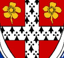 Coat of arms (family crest) for last-name or surname Mayfield (England) . Heraldry banner for your name. Sticker