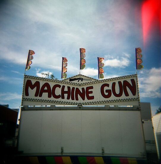 Machine Gun, Los Angeles, CA October 2010 by joshsteich
